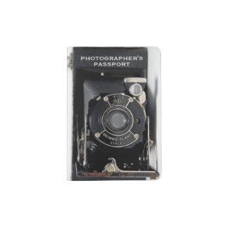 VINTAGE CAMERA USA Folding Camera Passport Holder