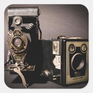 vintage cameras stickers