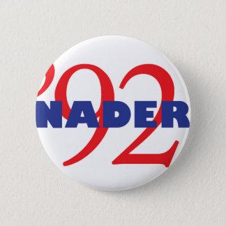 Vintage Campaign Logo Ralph Nader 1992 2 Inch Round Button
