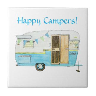 Vintage Camper Tile