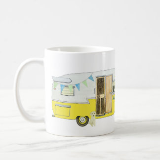 Vintage Camper with Dogs Mug