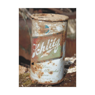 Vintage can photography print