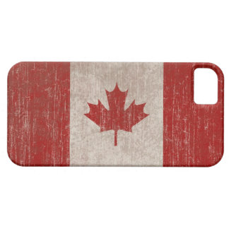 Vintage Canada Flag iPhone 5 Cases