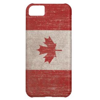Vintage Canada Flag iPhone 5C Cases