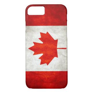 Vintage Canadian Flag iPhone 7 Case