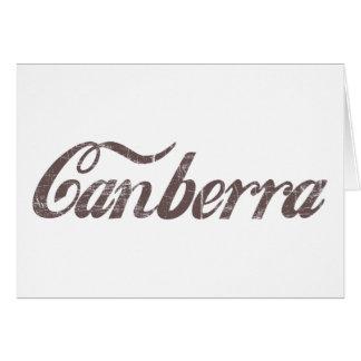 Vintage Canberra Card