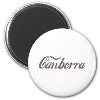 Vintage Canberra Fridge Magnet
