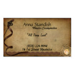 Vintage Candy Ribbons Business Cards
