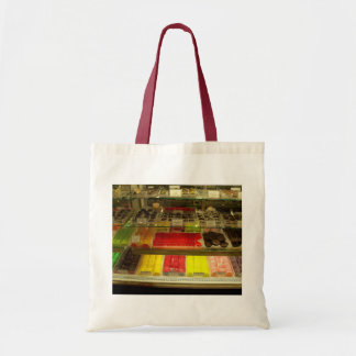 Vintage Candy Store Budget Tote Bag