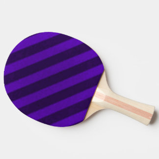Vintage Candy Stripe Amethyst Purple Ping Pong Paddle