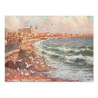 Vintage Cannes France Postcard