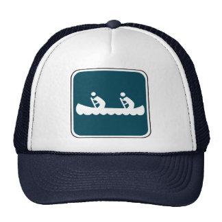 Vintage Canoe Sign Trucker Hat