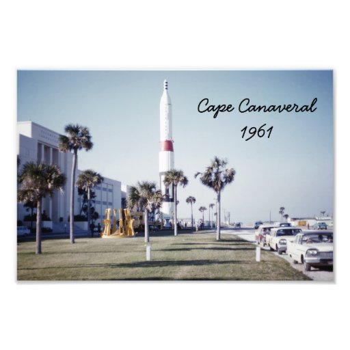Vintage Cape Canaveral Photographic Print