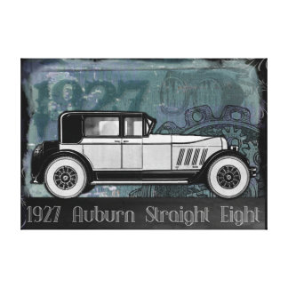 Vintage Car 1927 Auburn Straight Eight Canvas Print
