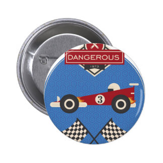 Vintage Car 2 Inch Round Button