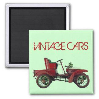 VINTAGE CAR AUTO RESTORATION AUTOMOTIVE Green Red Magnet