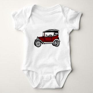 Vintage Car Automobile Old Antique Vehicle Auto Baby Bodysuit