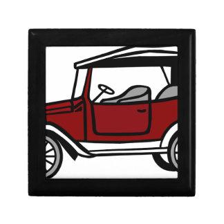 Vintage Car Automobile Old Antique Vehicle Auto Gift Box