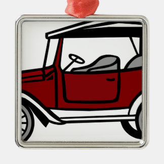 Vintage Car Automobile Old Antique Vehicle Auto Metal Ornament