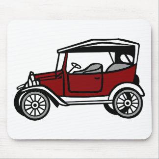 Vintage Car Automobile Old Antique Vehicle Auto Mouse Pad