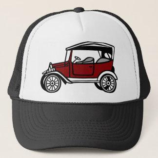 Vintage Car Automobile Old Antique Vehicle Auto Trucker Hat