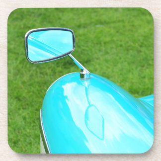 Vintage car beverage coaster
