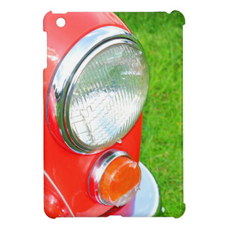 Vintage car cover for the iPad mini