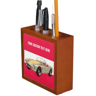 Vintage car custom desk organizer