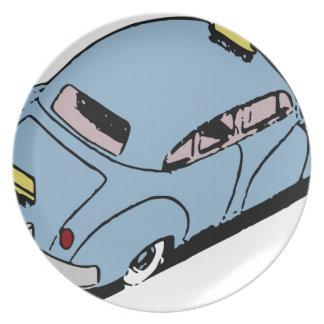 Vintage Car Plate