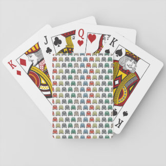 vintage car playing cards