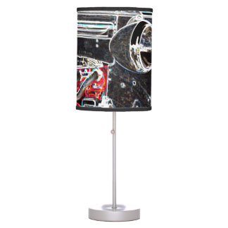 Vintage Car Sketch Table Lamp