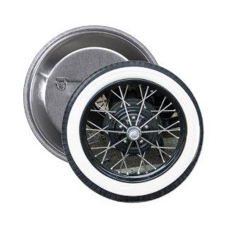 Vintage Car Tire 2 Inch Round Button