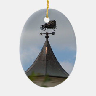 Vintage Car Weather Vane Ornament