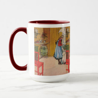 Vintage Carl Larsson The Kitchen Mug