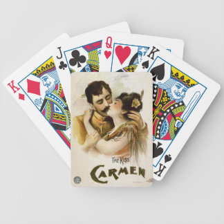 Vintage Carmen Poster Bicycle Playing Cards