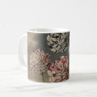Vintage Carnations Coffee Mug