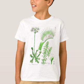 Vintage Carnivorous Plant Print T-Shirt