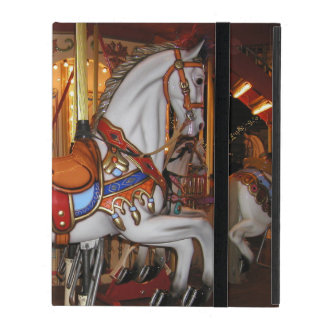 Vintage Carousel Horse 001 01 iPad Cover