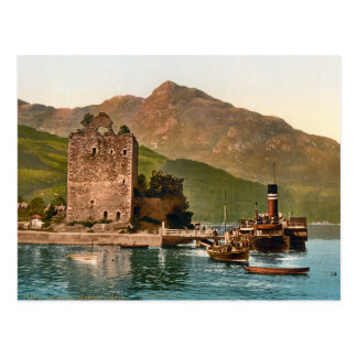 Vintage Carrick Castle Scotland Postcard