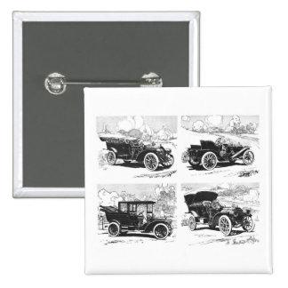 Vintage cars button