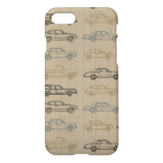 Vintage Cars iPhone 8/7 Case