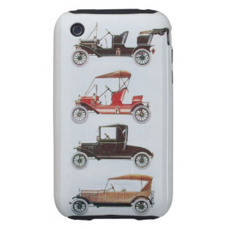 VINTAGE CARS  MONOGRAM iPhone 3 TOUGH COVERS