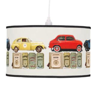 Vintage Cars Pendant Lamp