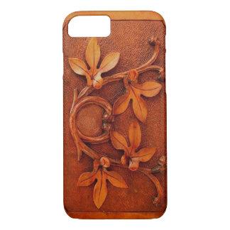 vintage carved wood iPhone 7 case