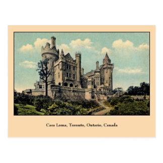 Vintage Casa Loma Toronto Canada Postcards
