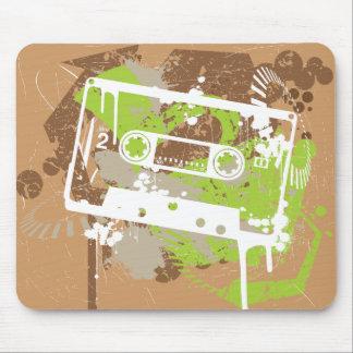 Vintage Cassete Tape Mouse Pad