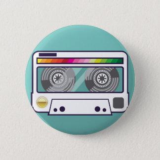 Vintage Cassette 2 Inch Round Button