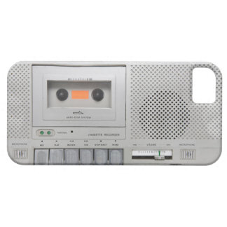Vintage Cassette Recorder Case For The iPhone 5