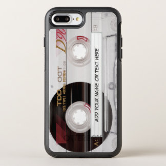 Vintage Cassette Tape Funny Look with Text OtterBox Symmetry iPhone 7 Plus Case