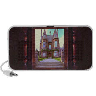 Vintage Castle in its glory awesome architecture iPhone Speaker